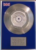 "BAY CITY ROLLERS - 7"" Silver  Disc - LOVE ME LIKE I LOVE YOU"